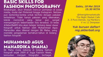 Bali: Basic Skills for Fashion Photography