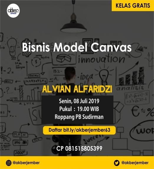 Jember: Bisnis Model Canvas