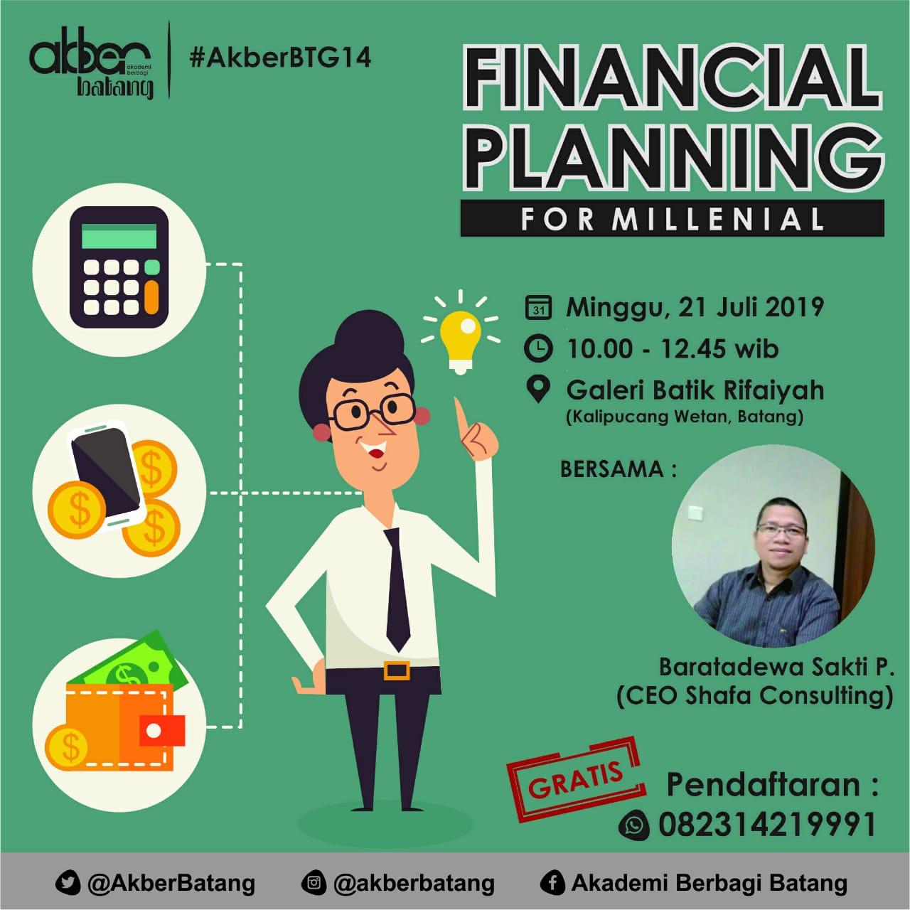 Batang: Financial Planning For Millenial