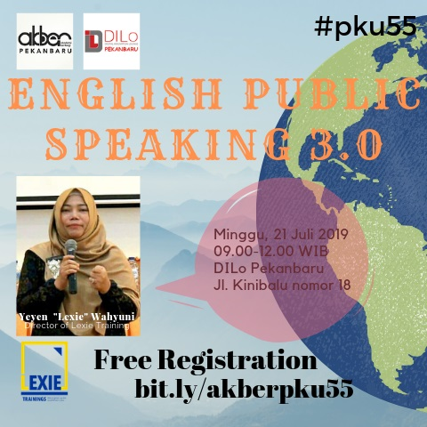 Pekanbaru: English Public Speaking 3.0