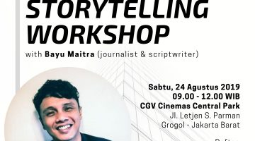 Jadetabek: Storytelling