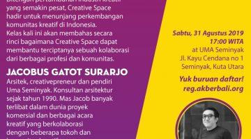 Bali: Kolaborasi di ruang kreatif