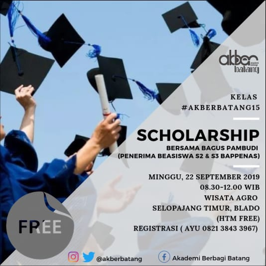 Batang: Scholarship