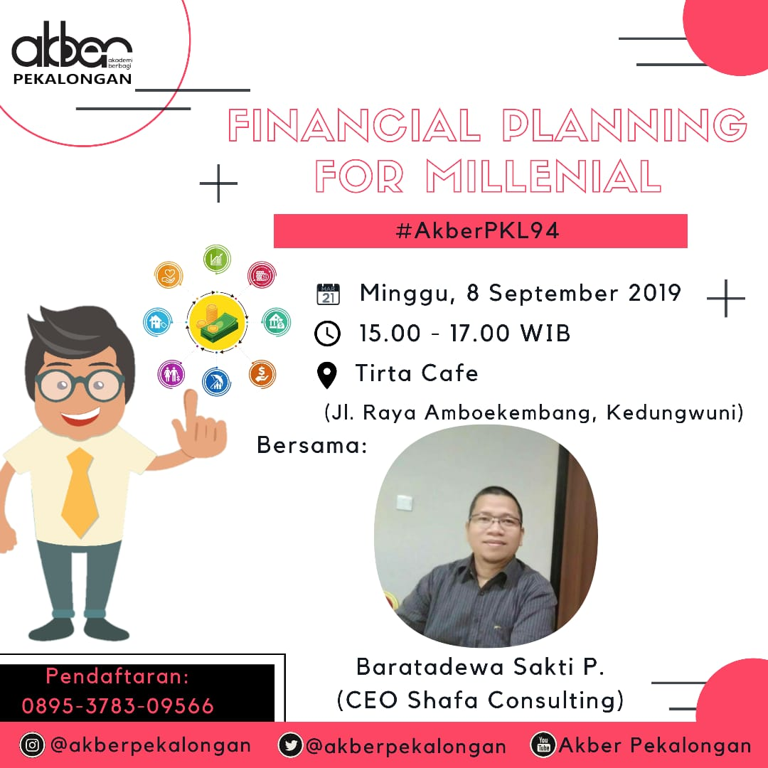 Pekalongan: Financial Planing For Milenial