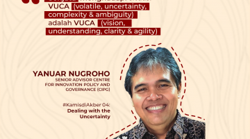 "#kamisdiAkber : ""Dealing with The Uncertainty"" – Yanuar Nugroho"