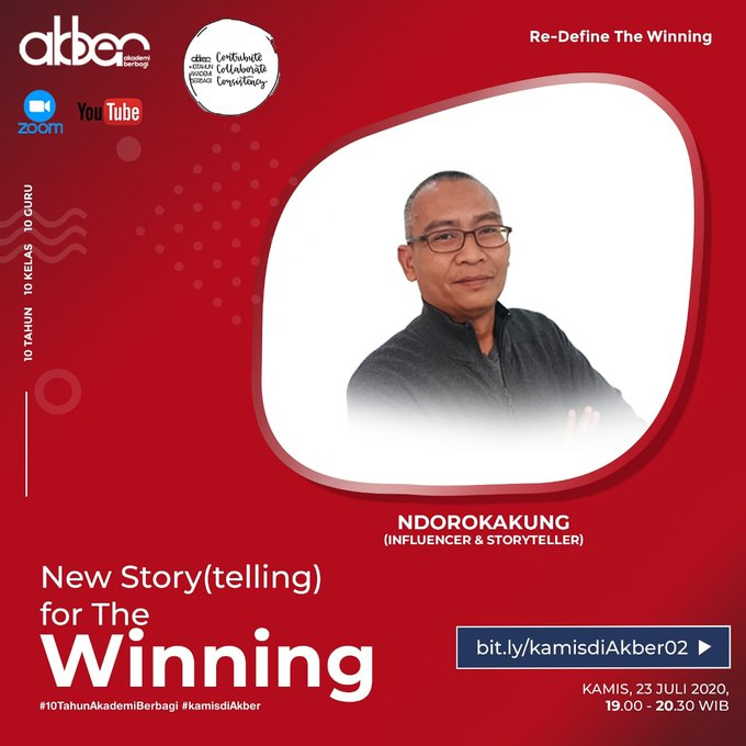 New Story(telling) for the Winning